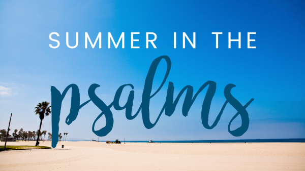 Summer in the Psalms: Restore my Soul